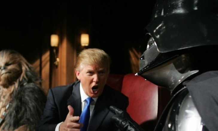 Star Wars: The Last Jedi - Trump and Darth Vader