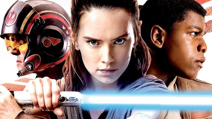 Star Wars: The Last Jedi - Poe Dameron, Rey, and Finn